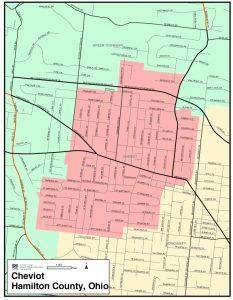 Cheviot Map