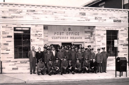 Westwood Post Office 1951