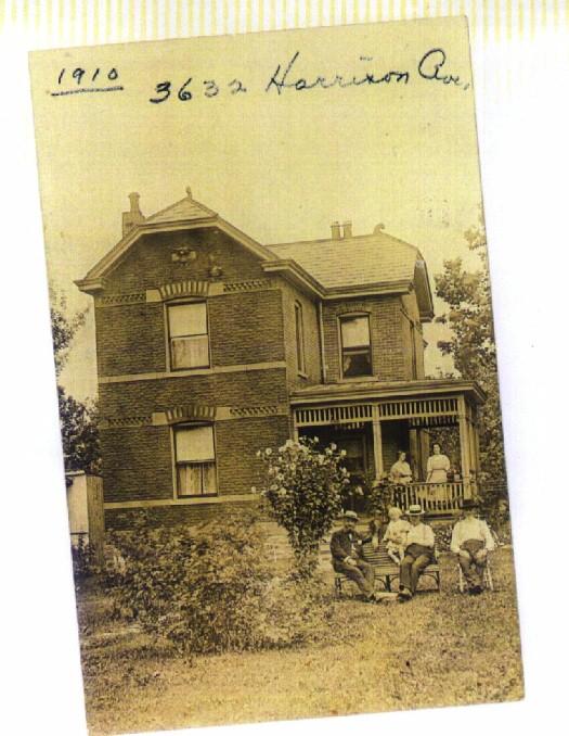 Huebner house 1910