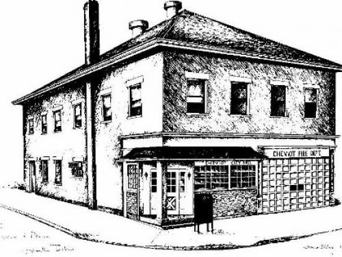 City Hall Sketch