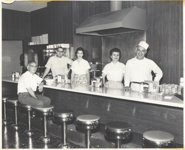 Mary and Mike Stone of Stone's Restaurant 1963